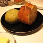 華モクレン - トランブルーのパン よもぎパンが絶品