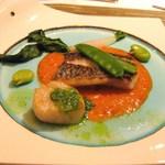 華モクレン - 白身魚のソテー