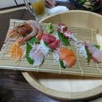 うま魚 - 料理写真:特選六種盛
