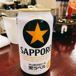 大黒家 - 缶ビール 350円