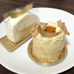 Patisserie Yu Sasage - 2020.9.12  購入したケーキ