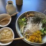 137399625 - 京の野菜そば(1,278円)
