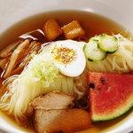さんきゅう - 料理写真:自家製手打ち冷麺  もちろんスープも自家製です