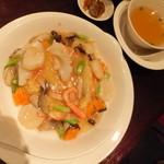 海鮮厨房 夢蘭 - 中華 金額は忘れました。