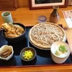 清九郎 - ミニ天丼セット