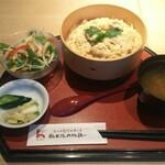 秋田比内地鶏や - 究極親子丼(中盛り) ¥1380