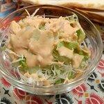 ガラムマサラ - Bセットのサラダ