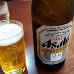 ラーメンの店 金精 - ドリンク写真:瓶ビール
