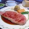 ラグーン - 料理写真:サーロインローストビーフセットです。¥1,780