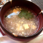 137411707 - 冬瓜と海鮮と玉子豆腐のスープ