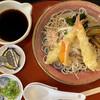 麺所 水野 - 料理写真:海老天檸檬みぞれ蕎麦