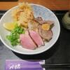 和菜うどん 快 - 料理写真:トリプル肉ぶっかけ