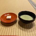 137414797 - 抹茶、金閣