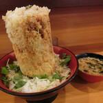 137415238 - 海鮮かきあげ丼