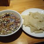 りきどう - つけ麺(凄平麺)小盛