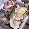 道の駅 みつ シーサイドレストラン 魚菜屋 - 料理写真:海鮮とお肉のセット