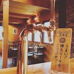 森のレストラン すっぴん - 店舗カウンター