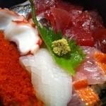 土産土法 さかな亭 - 2012.07海鮮丼(700円)のアップ!