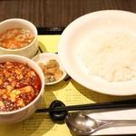 陳建一 麻婆豆腐店 - 麻婆豆腐定食