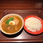 べいらっきょ - チキンカレー 1,100円(税込)