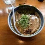 しんの助 - 太麺中華そば¥900