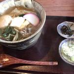 旬菜蔵せんや - 湯波そば(温)