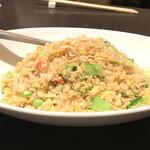 Kantonryouriminsei - 蟹とレタスの炒飯