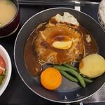 ハンバーグキッチン 杏 - 料理写真:杏のハンバーグ セット
