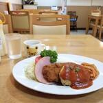 洋食フタバ - 料理写真:Cランチ(小盛り)
