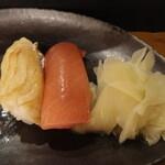 鮨司 吉竹 - 料理写真:白身、赤身