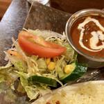 アロマズ オブ インディア - サラダのアップ