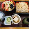 手打ちそば いちい - 料理写真:「野菜天丼ランチ」1,575円税抜き
