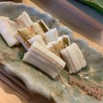 すし大泉 - 穴子の白焼き 塩で