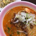 香蘭 - 料理写真:坦々麺チャーハンセット