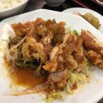 香蘭 - 油淋鶏ランチ