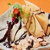 ぎんじ - 料理写真:温バナナの春巻き バニラアイス添え