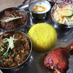 ガザル - 料理写真:キーマ、マトン、タンドリーチキン