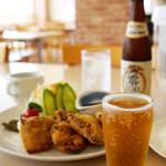 呉 ハイカラ食堂 - 暑い日の昼は冷えたノンアルで♪