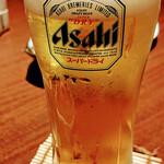 全席個室居酒屋 忍家 - 生ビール