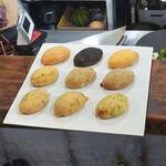 クリコロ - 料理写真:クリームコロッケ9種焼く前
