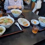 喜多方ラーメン坂内東部店 - 味玉子120円→-60円です!そして全容。