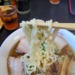 喜多方ラーメン坂内東部店 - 中太ちぢれ麺が美味しいなぁ~‼️