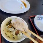 喜多方ラーメン坂内東部店 - 餃子は普通ですよ❗