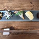 手打ち蕎麦 トナニカ - 料理写真:前菜