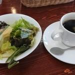 137459749 - コーヒーとサラダ