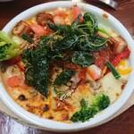 137459798 - 自家製夏野菜とタンドリーチキンのドリア