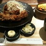 小樽食堂 - 2011年5月8日 若鶏ざんぎ定食780円