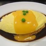 イクスピアリ・キッチン 舞浜洋食軒 - ・「ふわふわデミオムライス ダブルソース(\780)」