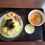 美蘭 - エビ出汁ざるラーメン(580円)