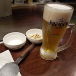 お好み焼・鉄板焼 88 パチパチ - ザ・プレミアム・モルツ香るエール